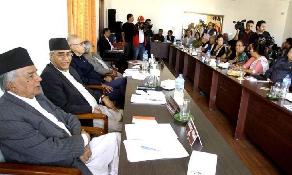 आफ्नै नेतृत्वका सरकार बनाउन कांग्रेसलाई सकस, पदाधिकारी बैठक बस्दै