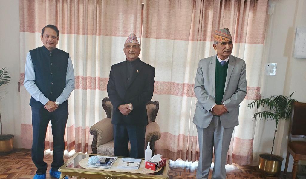 प्रधानमन्त्री र भाजपा नेताबीच 'गोप्य' भेट, ओली पक्षका नेतालाई मात्रै भेटेर फर्किए चौथाइवाले