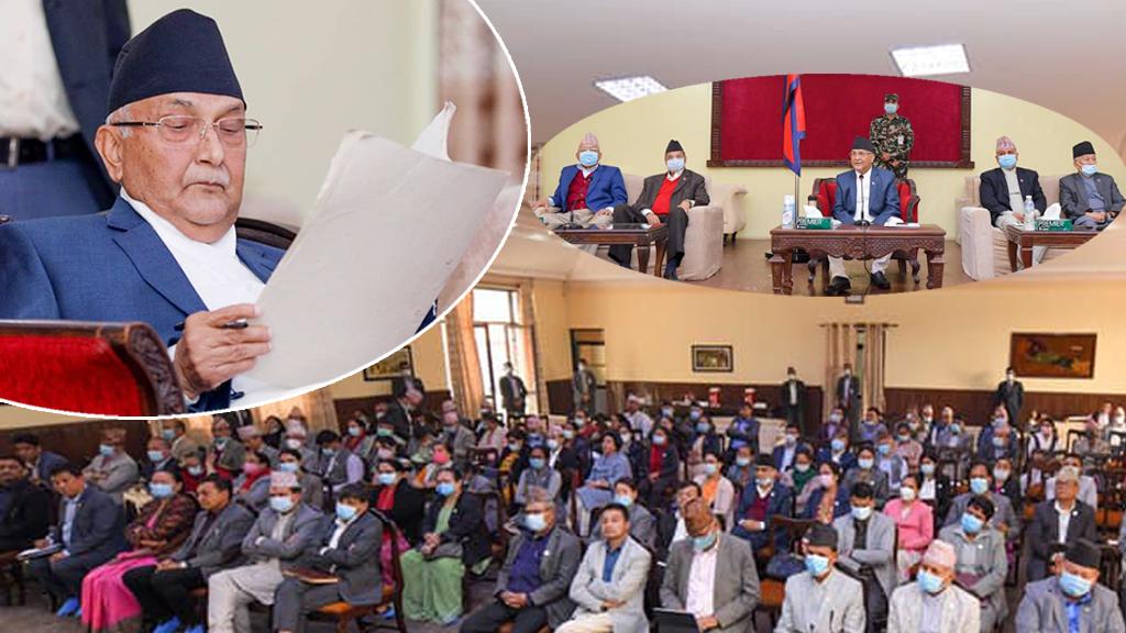 माधवकुमार नेपाल, भीम रावलसहित २७ सांसदलाई स्पष्टीकरण सोध्ने बालुवाटारको तयारी, को–को परे सूचीमा?