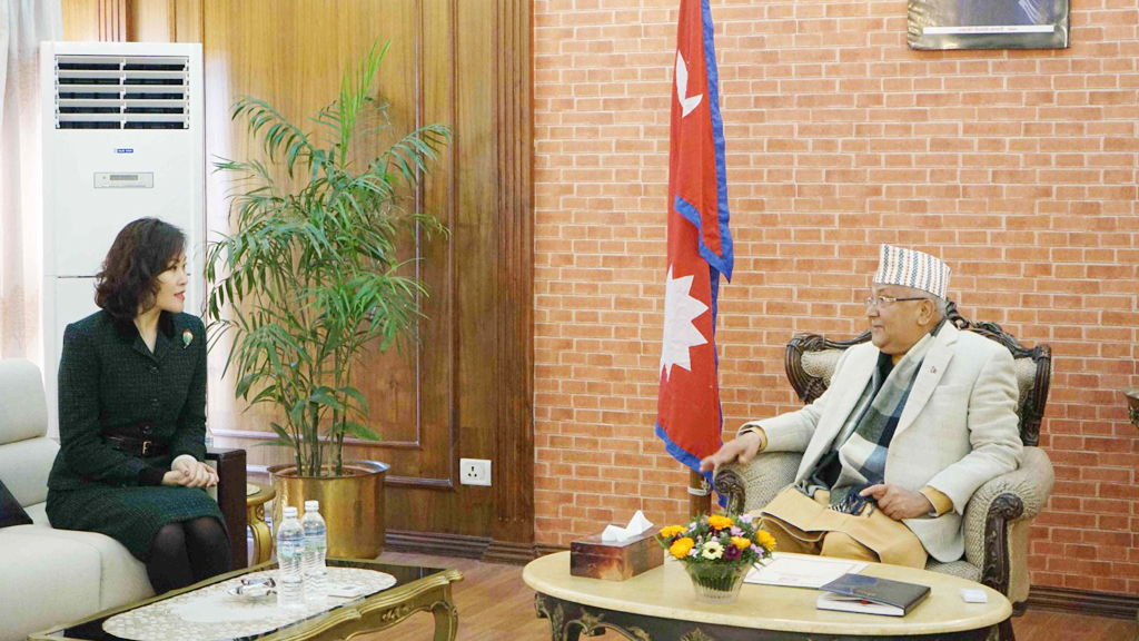 प्रधानमन्त्री ओलीलाई चिनियाँ राजदूतको सुझाव, 'राजीनामा दिनुस्, पार्टी एकता बचाउनुस्'