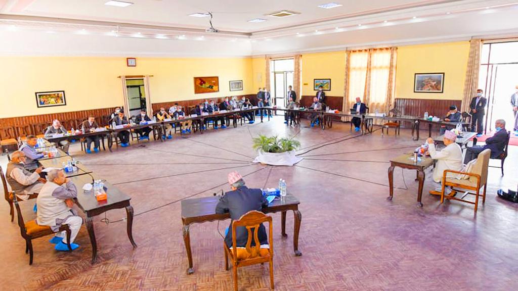 प्रधानमन्त्रीको आह्वानमा सर्वदलीय बैठकः सभामुखमाथि ओलीको आक्रोश, एमसीसीबारे बहस