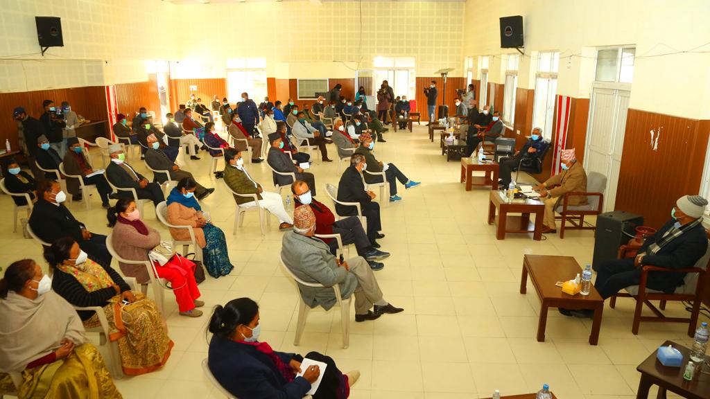 पुस १३ गते सबै निर्वाचन क्षेत्रमा विरोध कार्यक्रम गर्ने नेपाली कांग्रेसको निर्णय