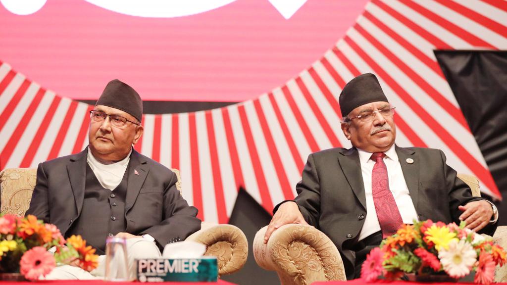 प्रचण्डको प्रस्तावले नेकपा विभाजनको अनौपचारिक घोषणा गर्यो : केपी शर्मा ओली (पूर्णपाठसहित)