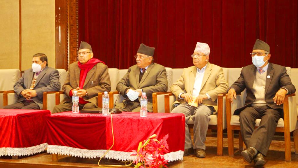 सर्वोच्चको फैसलालगत्तै प्रचण्ड–नेपाल पक्षका शीर्ष नेताहरू आकस्मिक छलफलमा