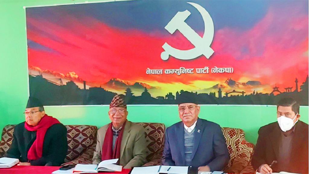पूर्वएमाले अलग र पूर्वमाओवादी केन्द्र अलग भएर जाने प्रचण्ड–नेपाल समूहको निर्णय