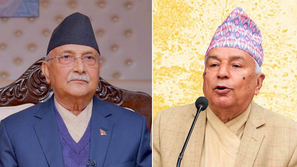 प्रधानमन्त्री ओलीलाई रामचन्द्र पौडेलको चुनौती, 'मसँग चुनाव लडेर देखाउनुस्'