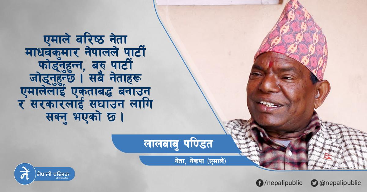 'केपी ओली नेतृत्वको सरकार ५ वर्ष नै चल्छ, माधव नेपाल पक्षलाई कारबाही हुँदैन' (अन्तरवार्ता)
