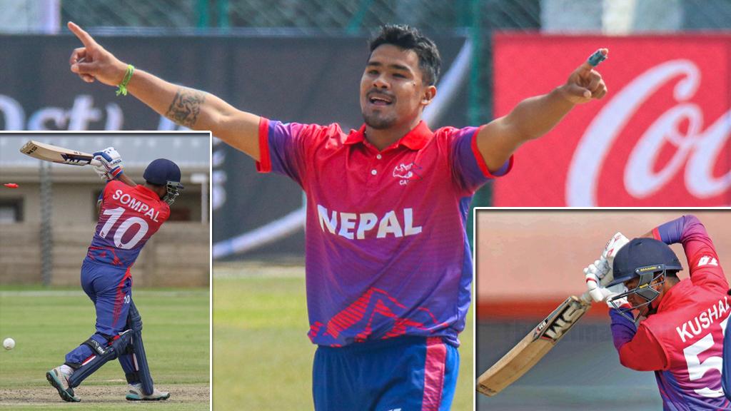 अन्तर्राष्ट्रिय फ्रेन्चाइज लिगमा नेपाली क्रिकेटरको छलाङ, ३ खेलाडीले टी–१० लिग खेल्दै