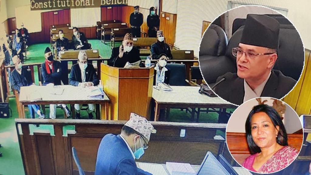 अधिवक्तालाई न्यायाधीश मल्लको प्रश्न, संसद विघटन गर्दा प्रधानमन्त्रीको बदनियत कहाँ देखियो ?'