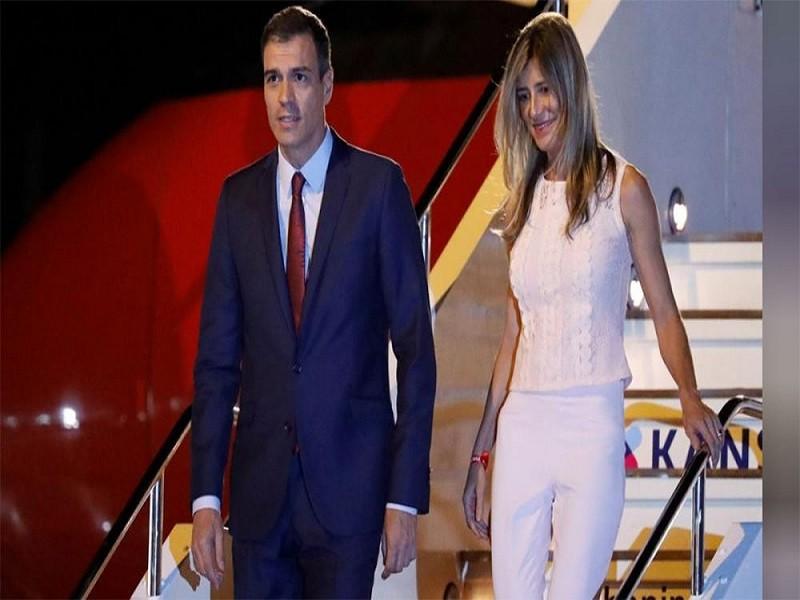 स्पेनका प्रधानमन्त्री सान्चेजकी पत्नी मारियामा कोरोनाकाे संक्रमण पुष्टी