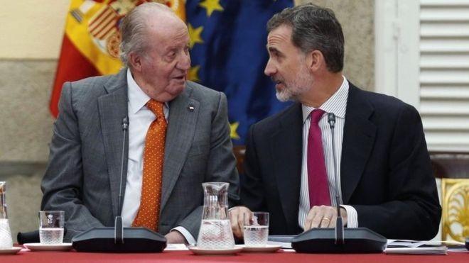 स्पेनका राजाद्वारा विवादास्पद पिताको सम्पत्ति नलिने घोषणा