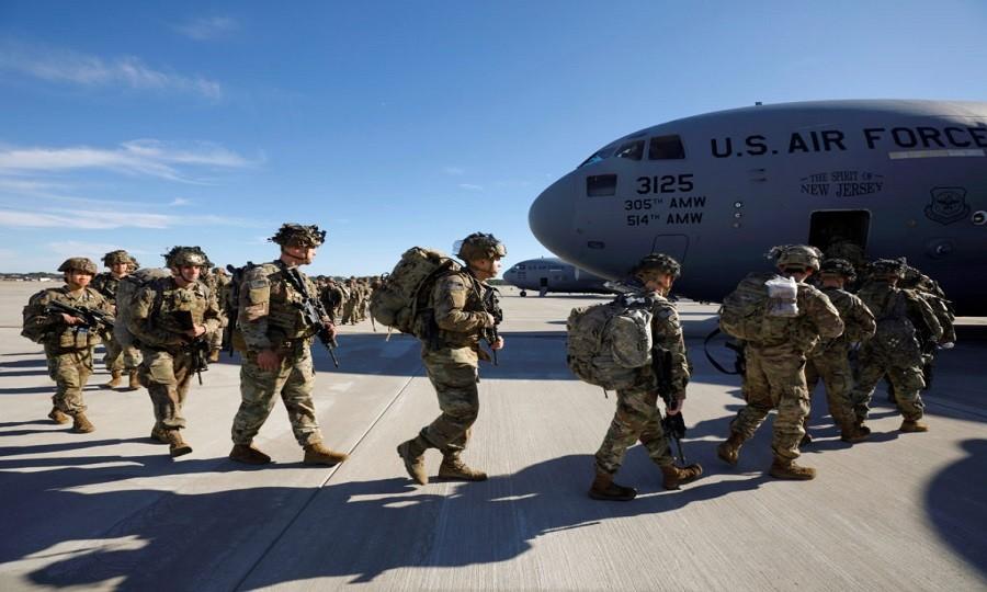 इराकका तीन सैन्य बेसबाट हट्दै अमेरिकी सेना