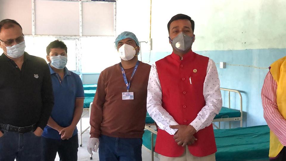 विरगञ्जको नारायणी अस्पतालमा २० बेडकाे आईसोलेसन वार्ड निर्माण