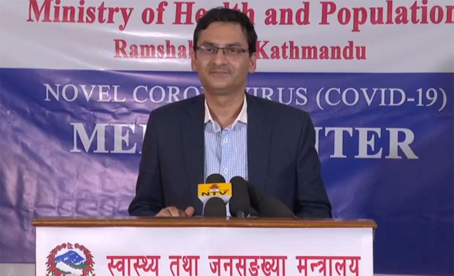 ७७ वटै जिल्लामा र्यापिड डाइग्नोस्टिक टेस्ट किटबाट परीक्षण शुरू, २ सय ५४ जना 'रेड जोन'मा