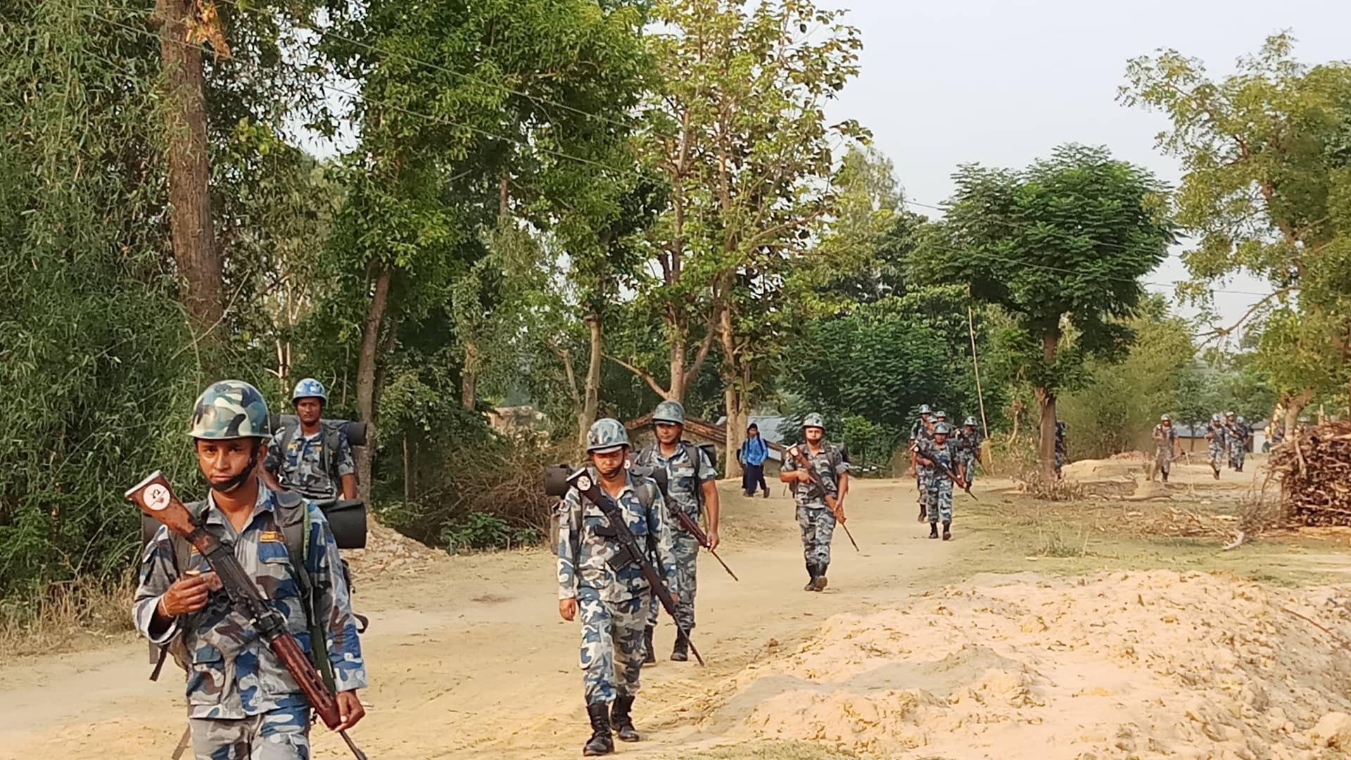 लकडाउन प्रभावकारी बनाउन सीमा क्षेत्रमा थप निगरानी, छ हजार सशस्त्र प्रहरी परिचालन