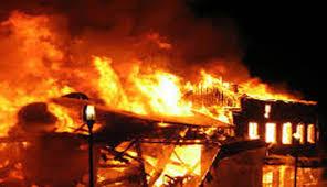 आगलागीबाट घर जलेर नष्ट