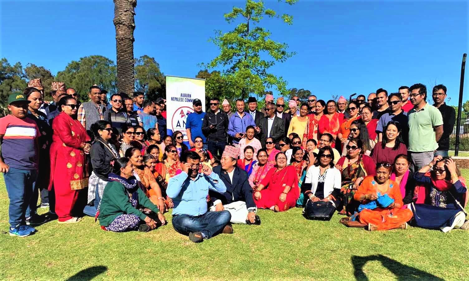 पश्चिम सिड्नीमा रहेका नेपालीलाई अउबर्न नेपाली समाजले सहयोग गर्ने