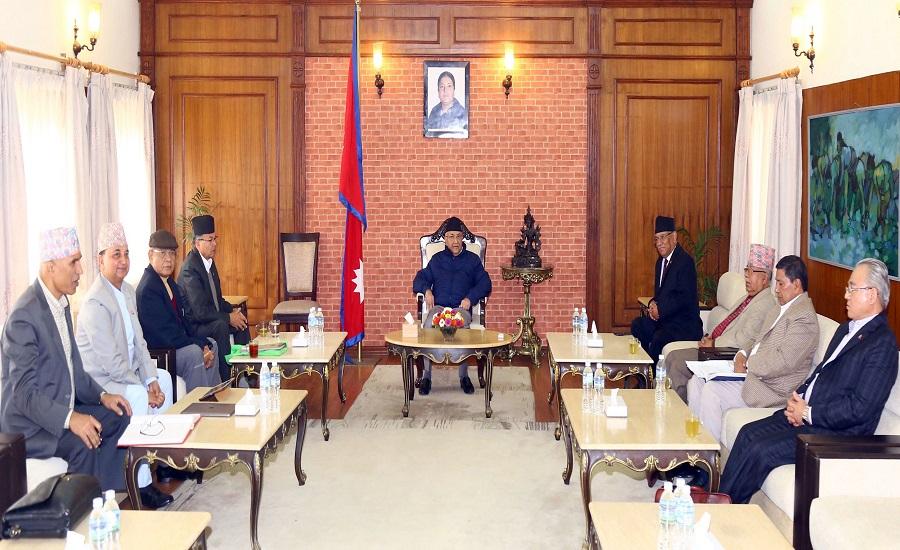 नेकपा-सचिवालय-बैठक  ४ बजे बस्दै