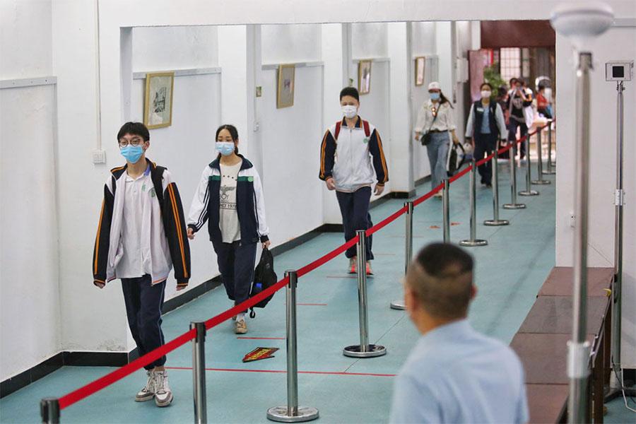 चीनको वुहान शहरमा खुले विद्यालय