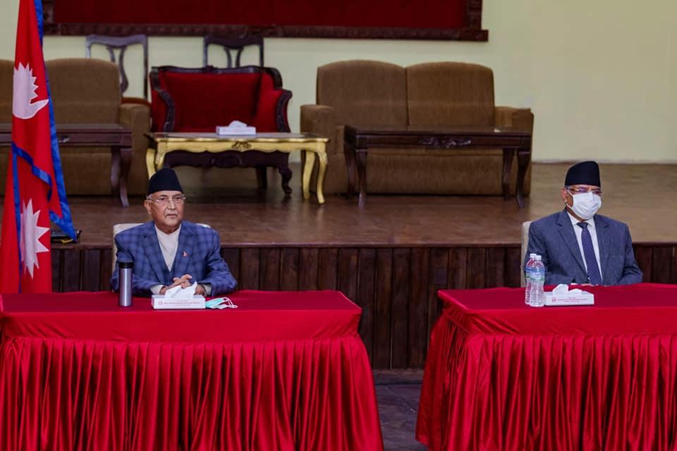 नेकपाको सचिवालय बैठक बस्दै