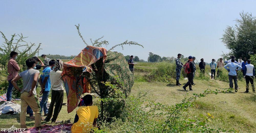 सीमामा चार हजारभन्दा बढी नेपाली अलपत्र