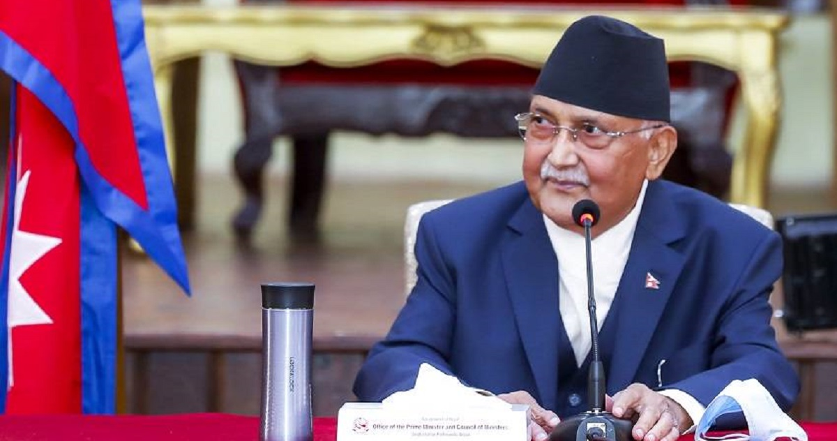 प्रधानमन्त्री र शीर्ष नेताहरुबिच वालुवाटारमा भेटवार्ता