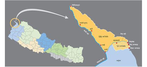 नेपालको माटो, भारतको-बाटो