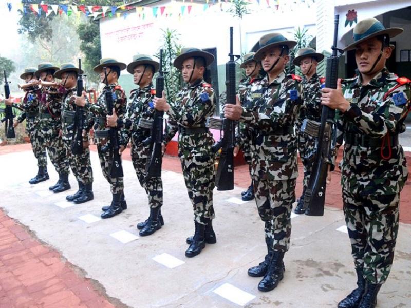 क्वारेन्टिनको सुरक्षामा नेपाली सेना