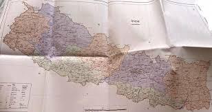 प्युठानमा नयाँ नक्शाको भित्तेचित्रण