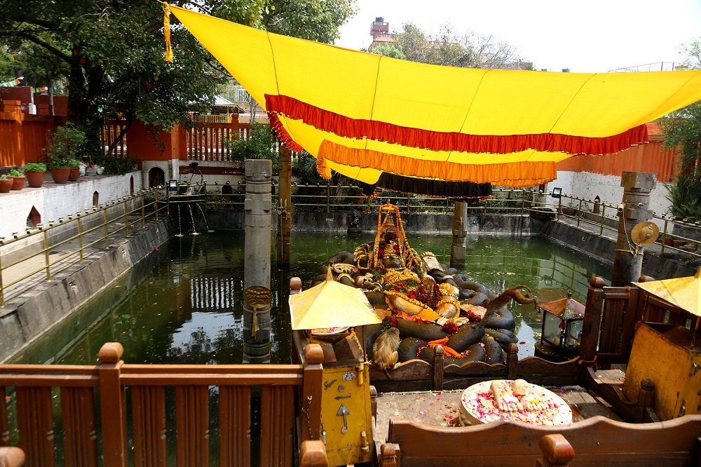 बूढानीलकण्ठ मन्दिर क्षेत्र सिल