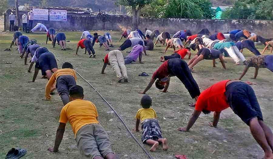 लकडाउनमै बन्यो कुश्मामा सार्वजनिक व्यायामस्थल