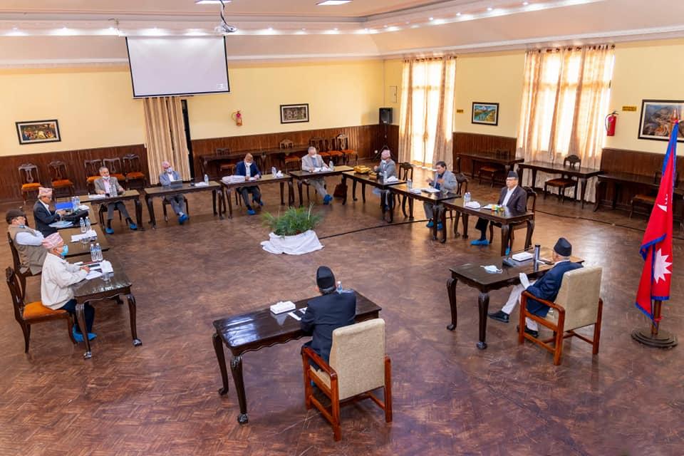एमसीसीबारे निर्णय गर्ने जिम्मेवारी संसदलाई सुम्पिने नेकपा सचिवालयकाे निश्कर्ष
