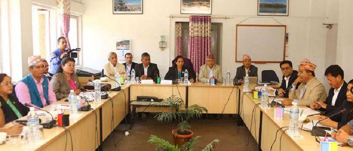 अन्तर्राष्ट्रिय सम्बन्ध समितिको वार्षिक प्रतिवेदन सार्वजनिक हुँदै