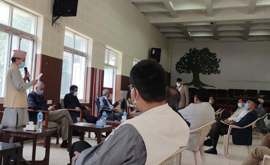 कांग्रेस केन्द्रीय समितिमा संविधान संशोधन सम्बन्धि प्रस्तावमा छलफल
