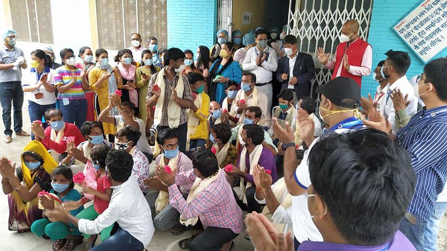 २५ जना काेराेना संक्रमित अस्पतालबाट डिस्चार्ज