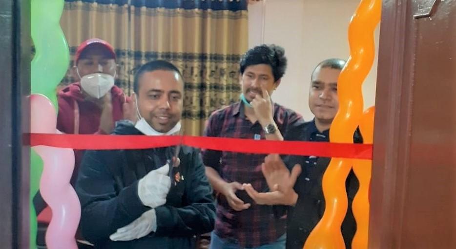 लायन्स क्लब अफ काठमाण्डौ एपेक्सको सम्पर्क कार्यालय उद्घाटन