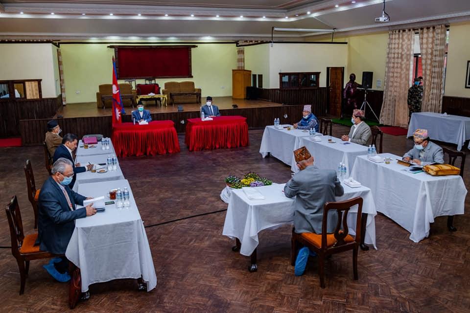 नेकपाको केन्द्रीय सचिवालय बैठक स्थगित