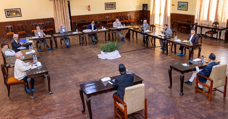 एमसीसीबारे छलफल गर्न आज नेकपाको सचिवालय बैठक बस्दैँ