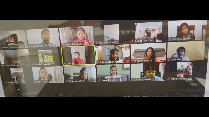 २० देशका नेपाली बालबालिकाले साटासाट गरे कोरोना कहरको अनुभव