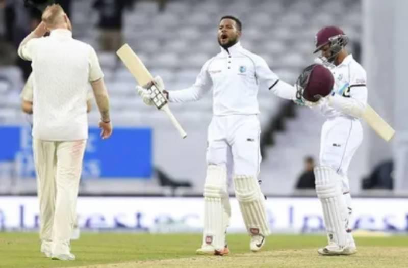 इंग्ल्यान्डविरुद्धको टेस्ट खेलमा वेस्ट इन्डिज विजयी